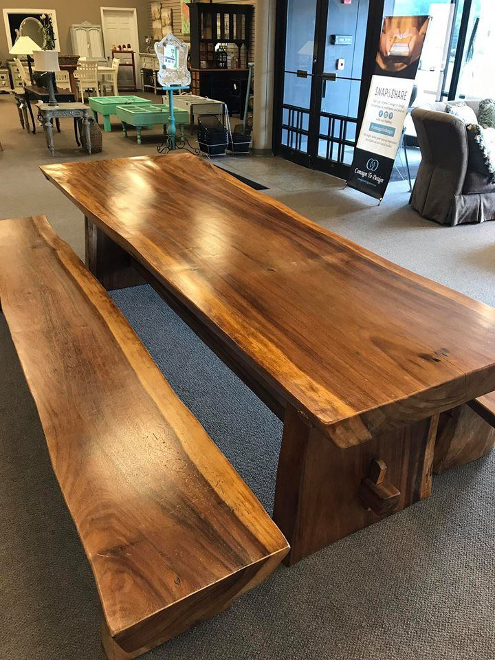 Etonnant Gorgeous Indonesian Teak Table U0026 Benches... Itu0027s HUGE And Gorgeous. Shop  The Largest Consignment Store In #Knoxville #ConsignToDesign