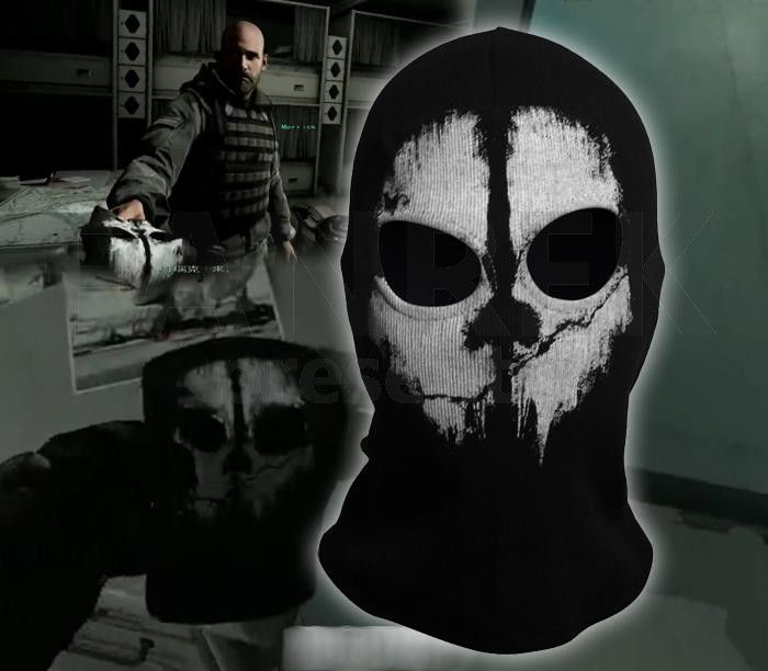 Call Of Duty Ghosts Logan Masks Call Of Duty Ghosts Ghost Faces
