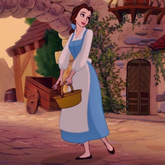 Belle Peasant Dress | Disney | Belle blue dress, Disney ...
