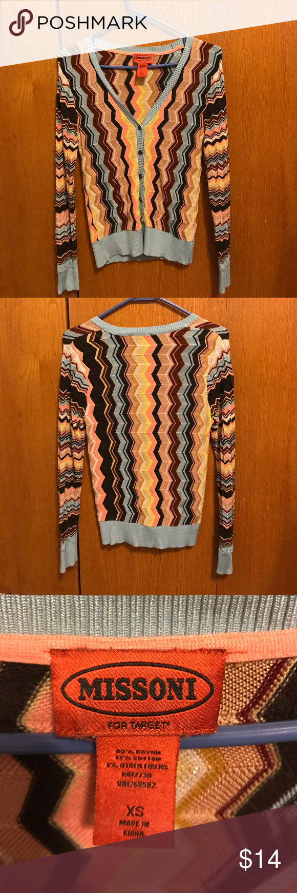 Missoni for Target cardigan | Missoni, Target and Color patterns