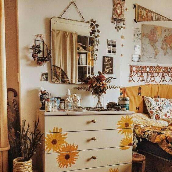 Hippie Chic Decorations Tumblr Sunflower Y Hippie Chic Room
