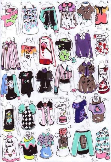 Clothes drawing outfits female 23+ Ideas #clothesdrawing