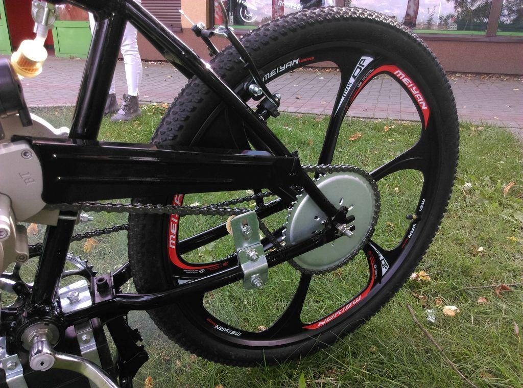Rower Z Silnikiem Spalinowym Rozruch Elektryczny 6965673187 Oficjalne Archiwum Allegro Bicycle Woodworking Vehicles