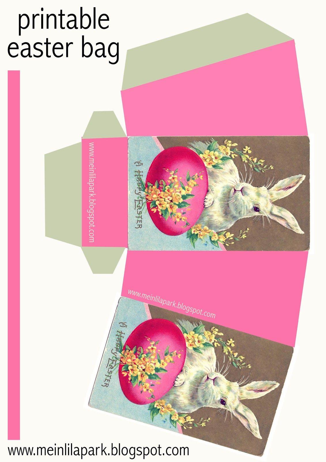 Free printable diy easter bunny box ausdruckbarer osterkorb free printable diy easter bunny box httpmeinlilaparkspot201403 free printable diy easter bunny boxml negle Choice Image