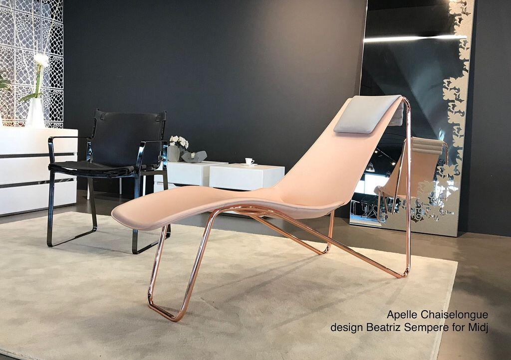 Midj Sedie ~ ❤️apelle chaiselongue design beatriz sempere for midj in italy