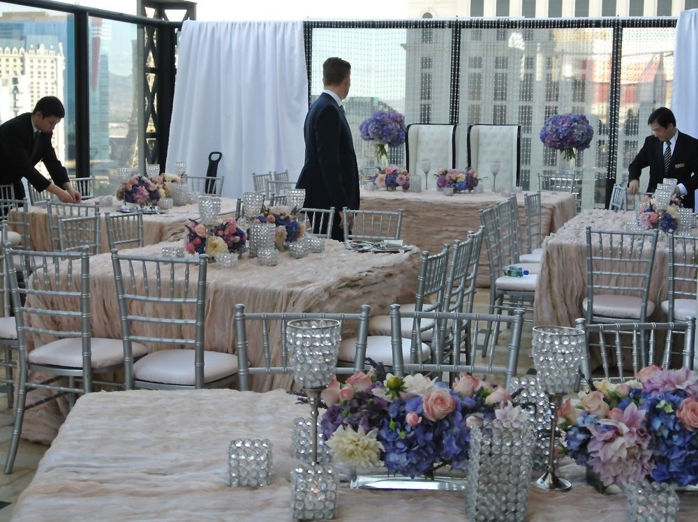 Megan and Alan Behind the Scenes at A Penthouse Wedding