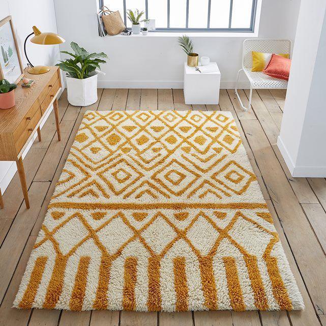 Ocrul Wool Rug Berber Inspired This Looks Fantastic In Clic Interiors