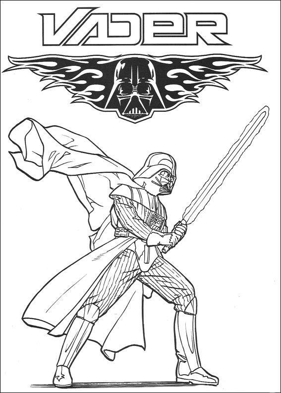 Star Wars 93 Ausmalbilder für Kinder. Malvorlagen zum ...