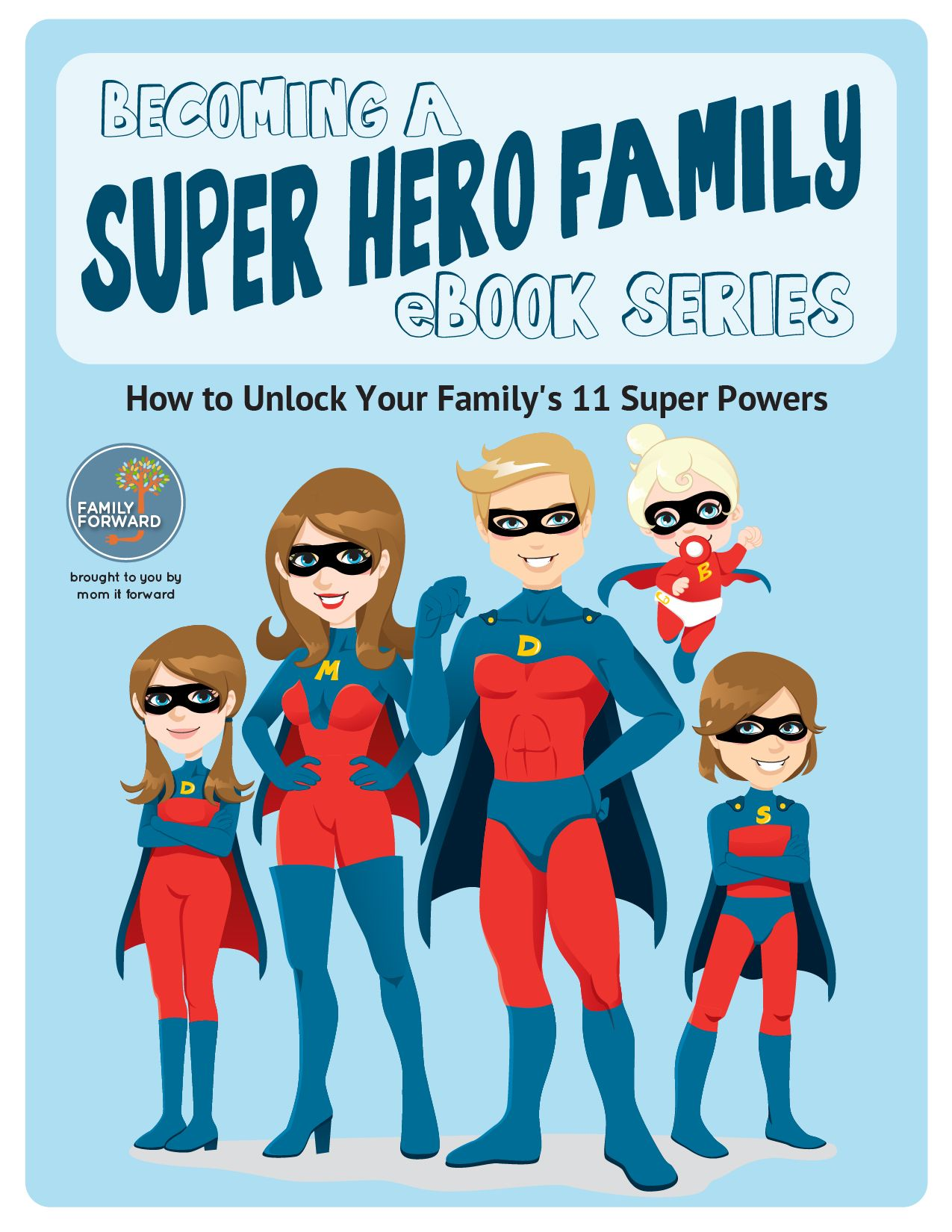 Superhero Family With Images