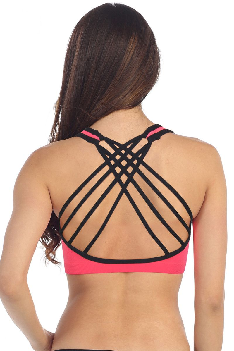 Best Sports Bra Ever: DOUBLE LAYERED STRAPPY RACERBACK 83