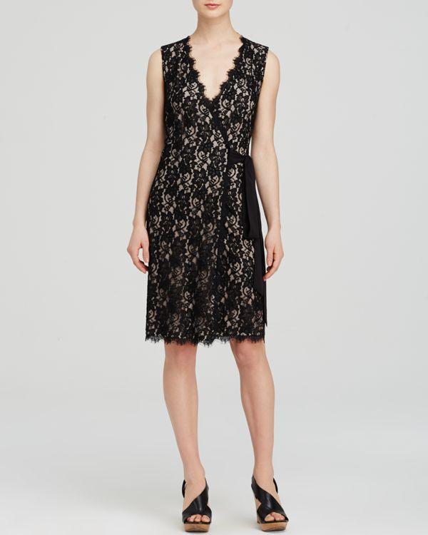 Diane von Furstenberg Wrap Dress - Julianna Two Lace