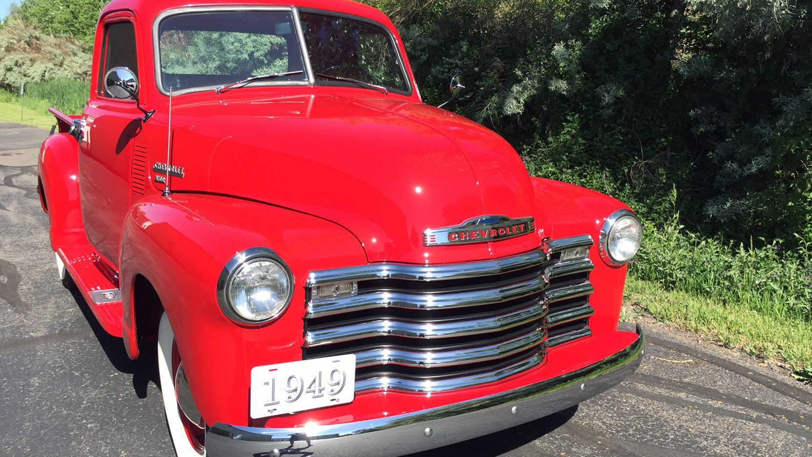 1949 Chevrolet 3100 presented as Lot F198 at Denver, CO   Beauty on ...