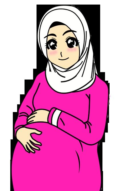 Animasi Gambar Ibu Kartun