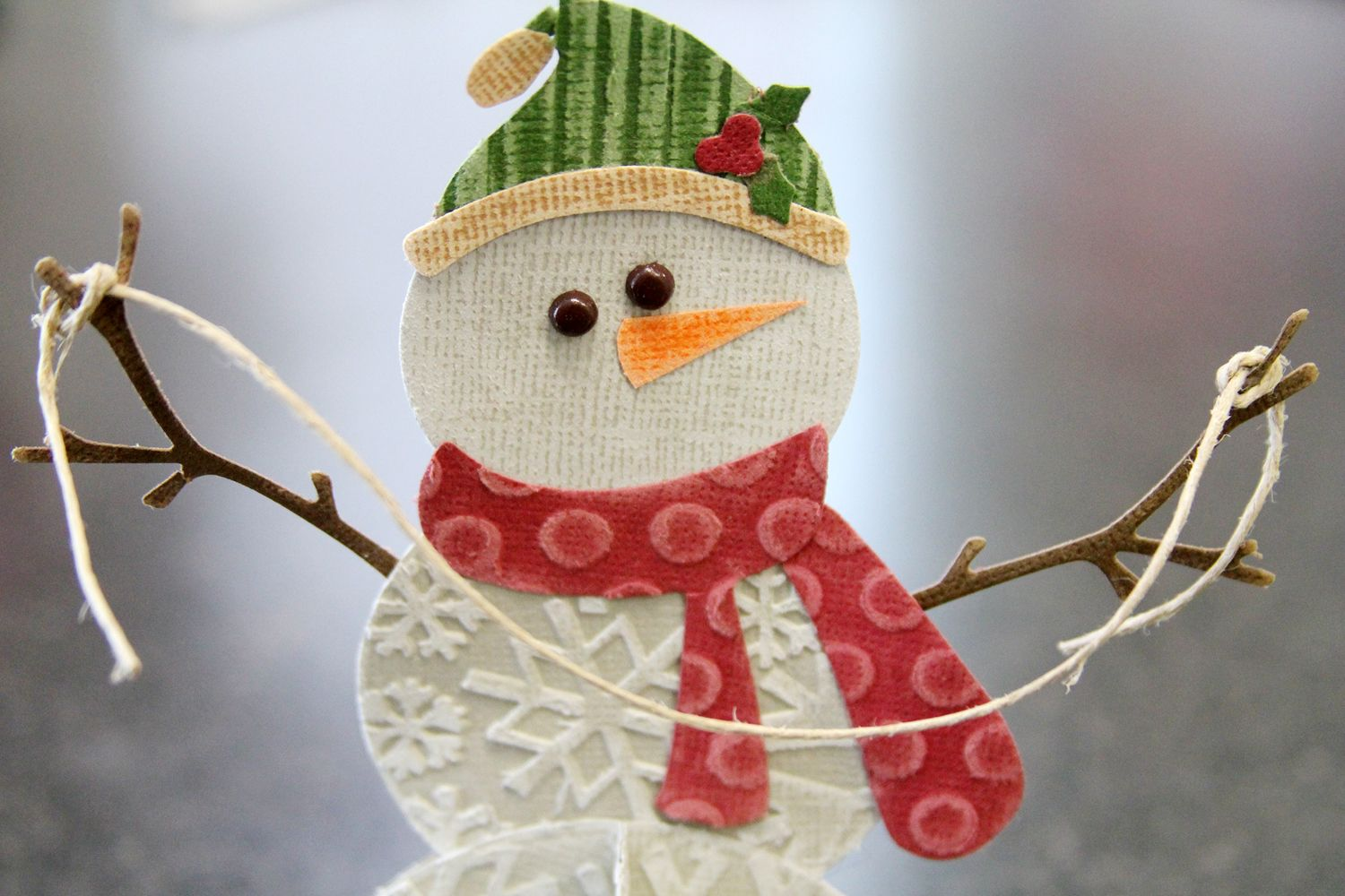 Core'dinations Cardstock Paper Snowman | Christmas crafts ...