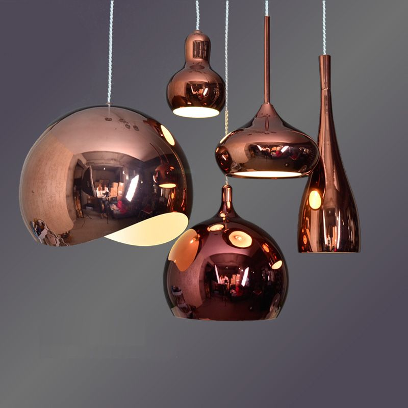 Aliexpress.com : Buy Bar Antique Rose Gold Pendant Lights