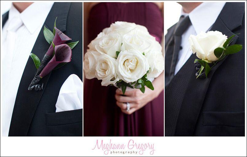 Nicole + Joe Joe's Wedding at GraniteLinks - Blog - Meghann Gregory Photography | Burgundy and Black color scheme