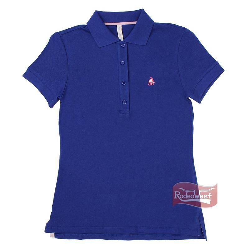 21a91c2b28 Polo Feminina Lisa Azul Royal - Tassa 14557  Mulheres