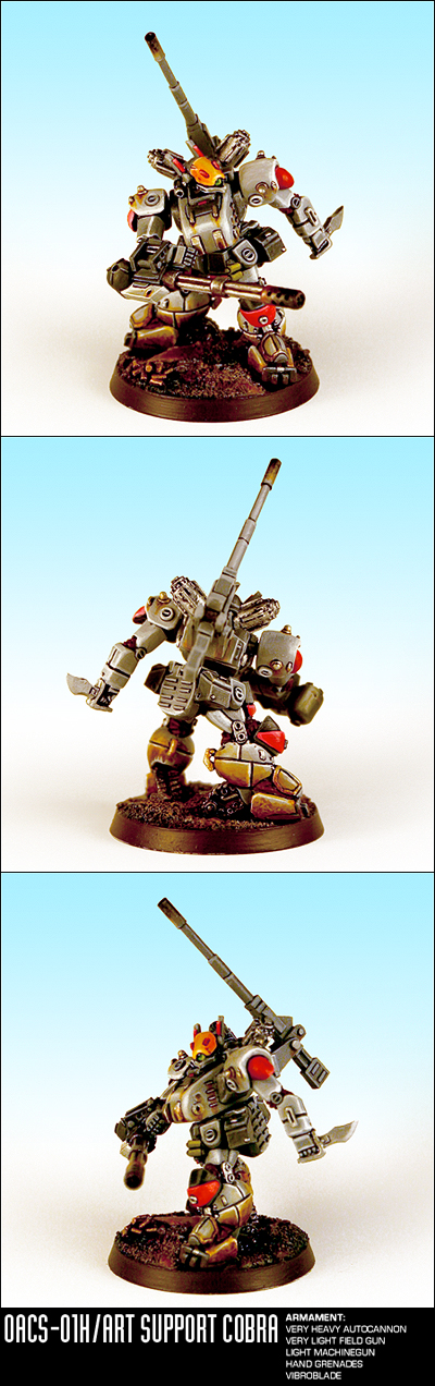 Heavy Gear Blitz - Support Cobra