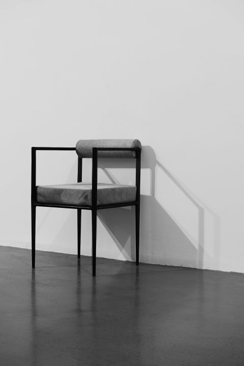 Square Alchemy Chair Rick Owens Furniture Metal Dining Chairs