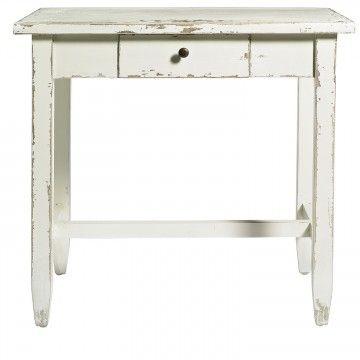 Mesa en blanco.
