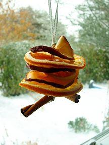 Ornamenti di Natale fatti in casa semplici