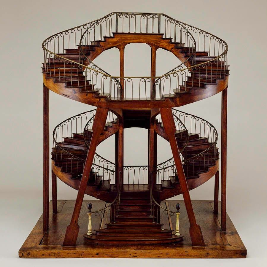 Best Double Spiral Stairs Bldgblog Architecture Model 400 x 300