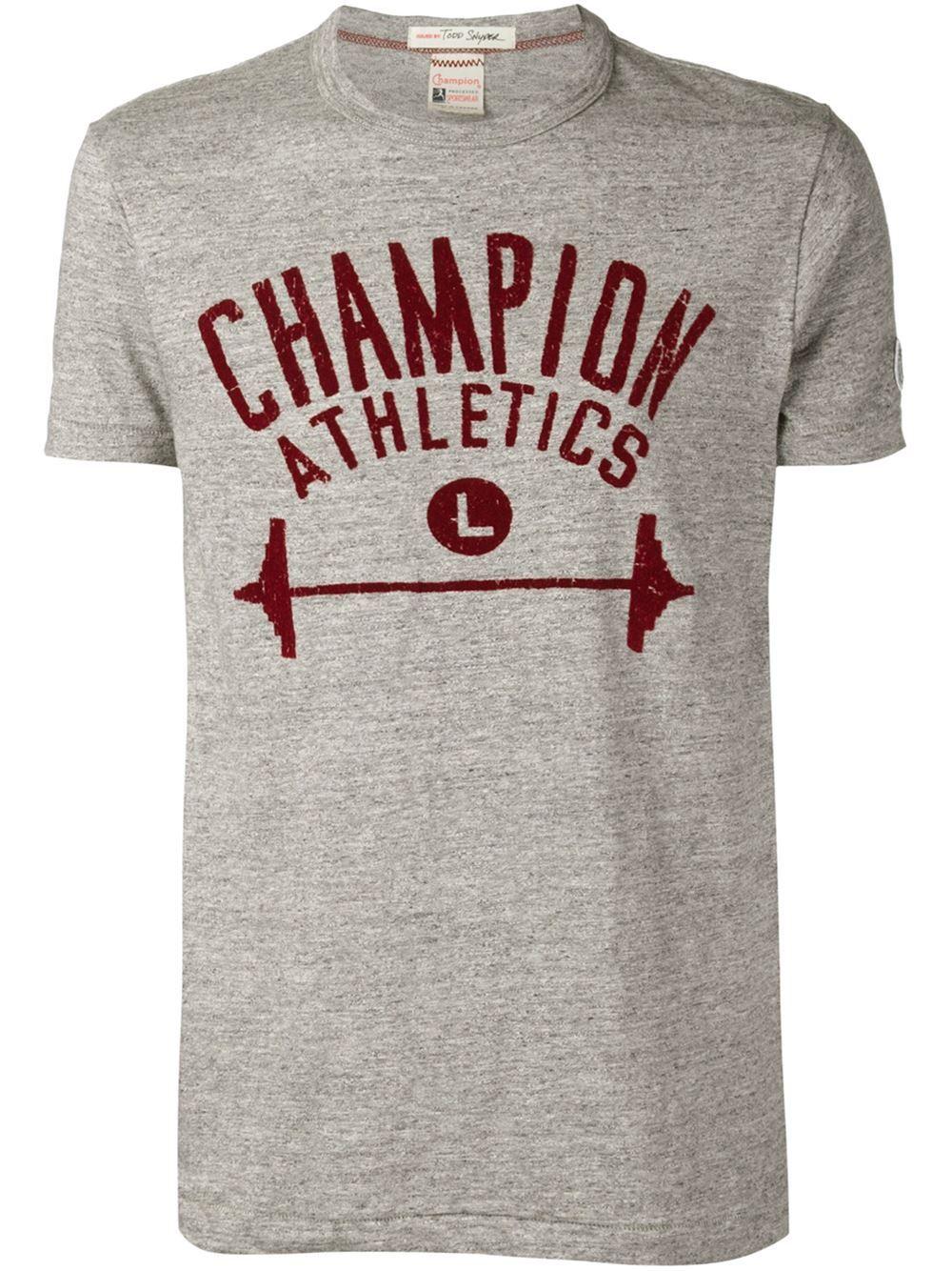 7b4c42c3e8772 Champion Todd Snyder X Champion Logo Print T-shirt - The Webster - Farfetch .com