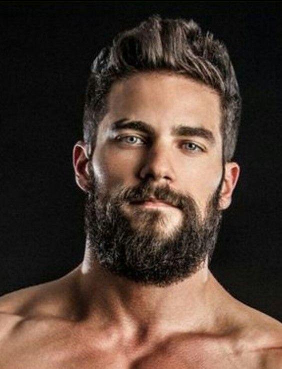 Sexy guys with facial hair