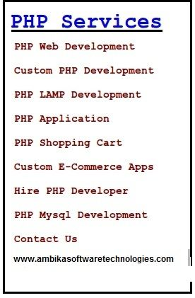 We Provide Wide Range Of Service In Php Development By Using The Technologies Of Php Web Development Internet Marketing Service Web Development Company