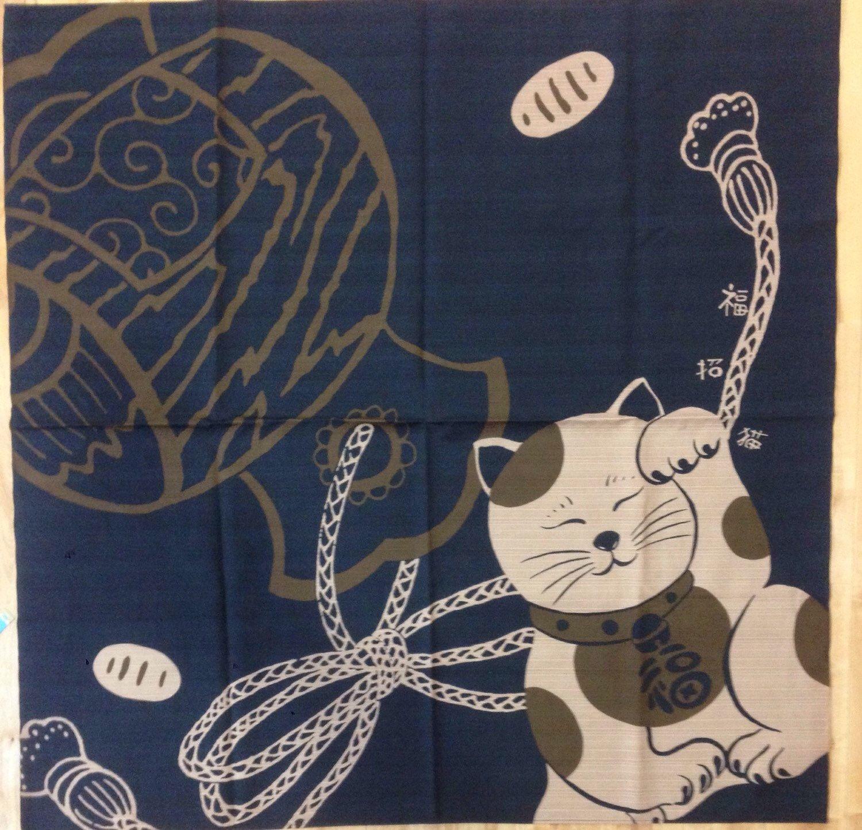A personal favorite from my Etsy shop https://www.etsy.com/listing/212924766/furoshiki-large-furoshiki-manekineko