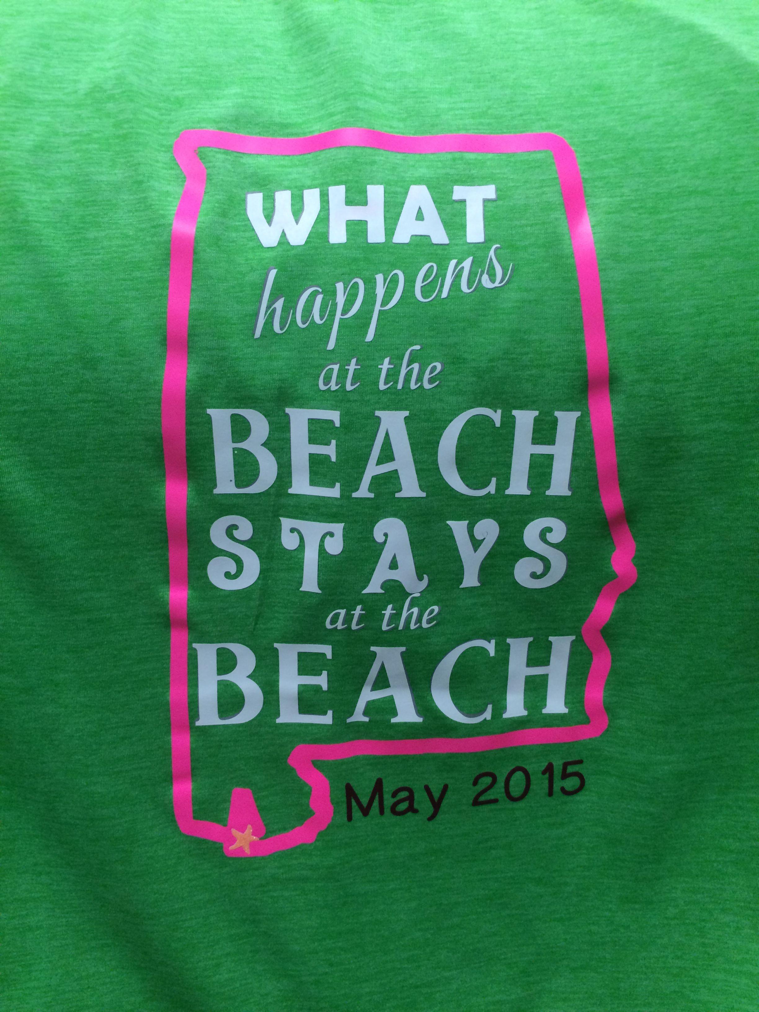 1051bbaa3 Girls Beach Trip T-Shirt idea.   Heat Transfer Vinyl Crafts   Beach ...
