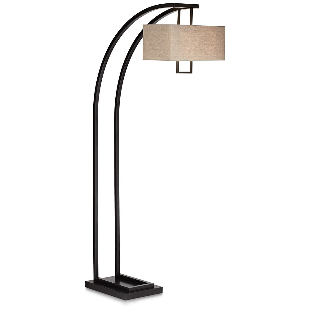 Aiden Place Oil Rubbed Bronze Arc Floor Lamp Style