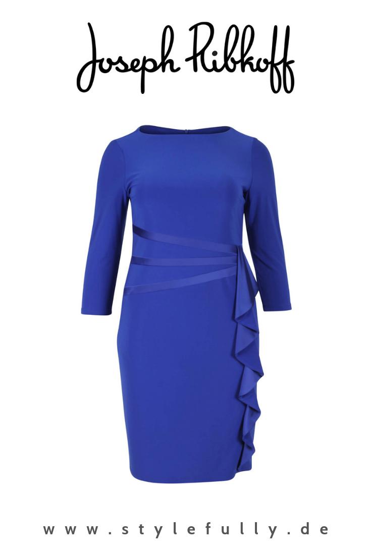 kleid in blau von joseph ribkoff | etuikleid, kleider