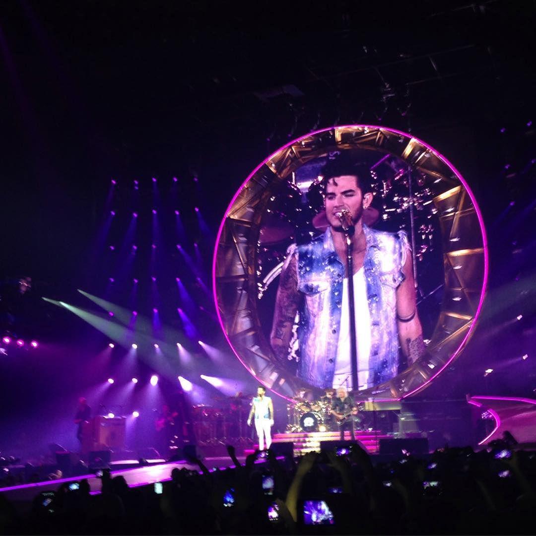 """""""#adamlambert I LOVE YOU! #yourtour #Queen"""""""