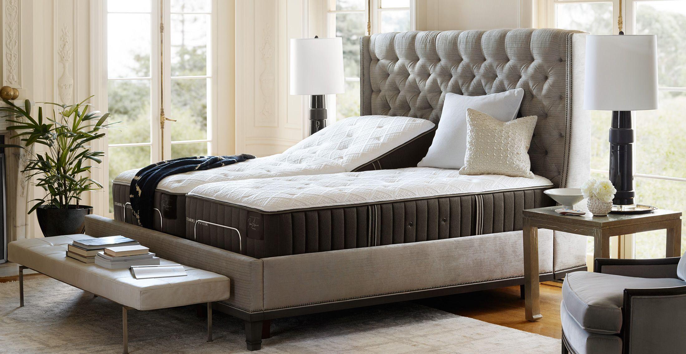 Stearns & Foster Estate 15inch Euro Pillowtop Mattress