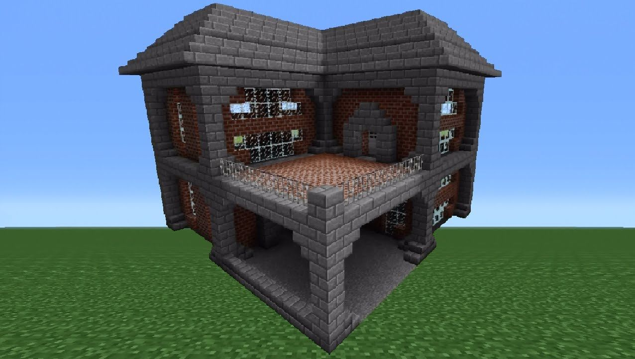 Pin By Kaily Hall On Minecraft Tutorial Circuit Tutorials And Builds Aklinger Brick House 1 Creations