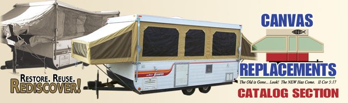 old coleman tent trailer
