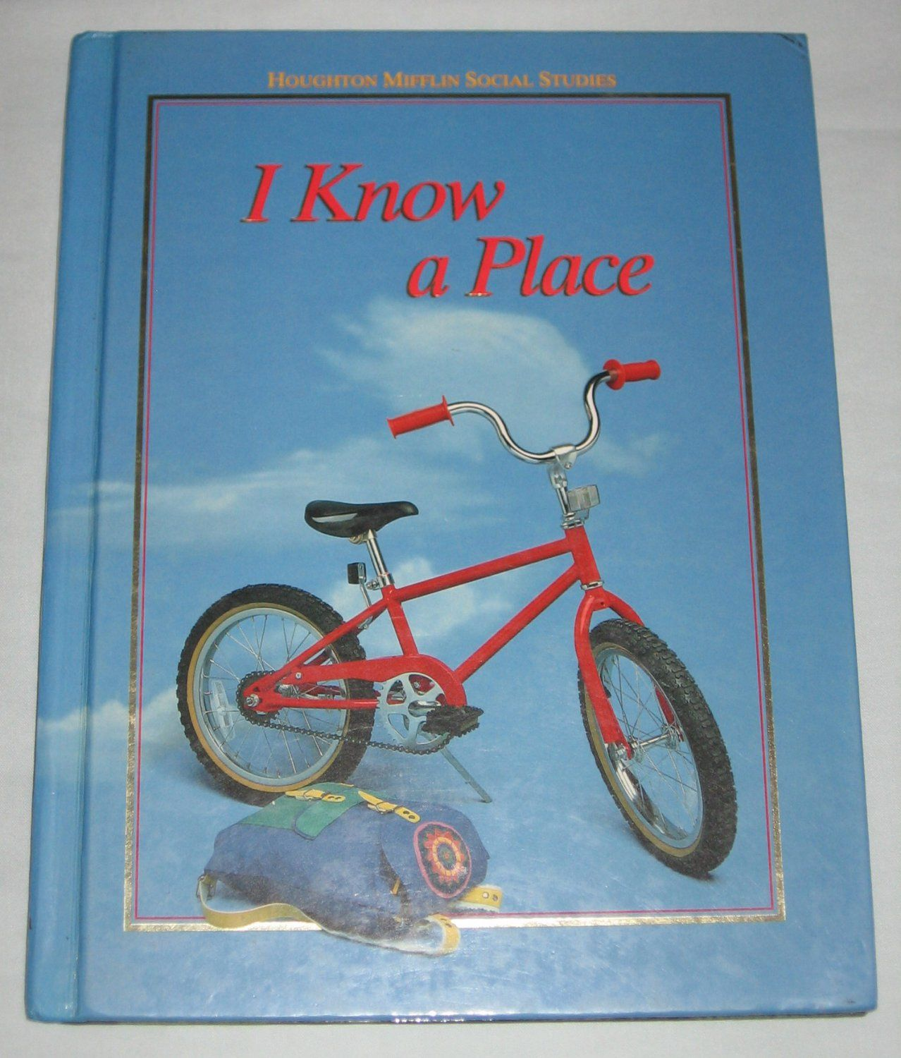 For Sale Houghton Mifflin Social Stu S I Know A Place