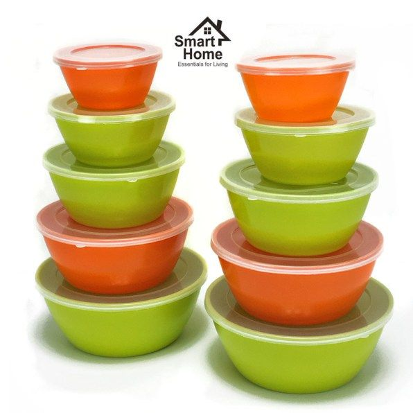 20 Piece Melamine Nesting Bowls Set Just $5.49! Down From $24.99!