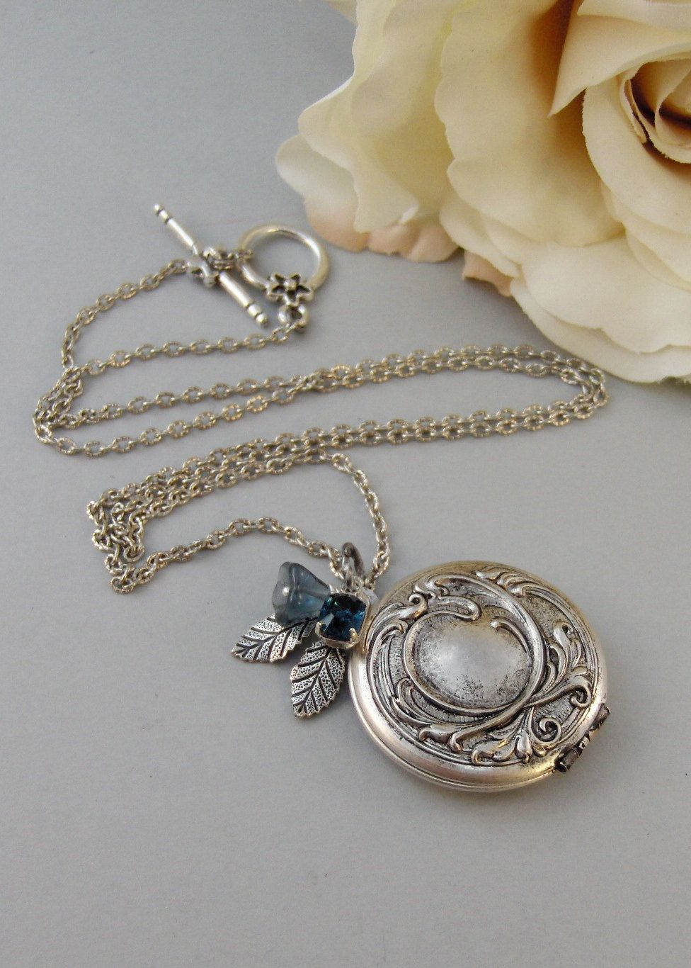 mikolay by oval silver lockets locket necklace sunburst monica sapphire desires kosann in pendant with rich jewelry white collections accents