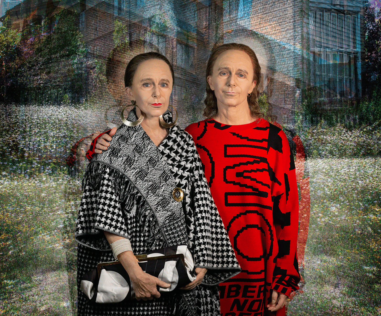 Cindy Sherman collaboration with Stella McCartney in 2020 | Cindy sherman, Fashion, Sherman