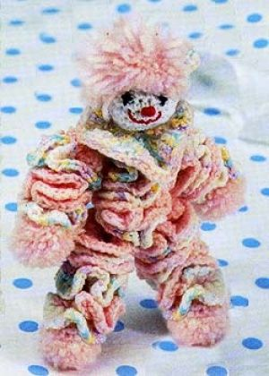 OMG I had one of these as a kid! Clown Carriage Toy | crochet toys ...