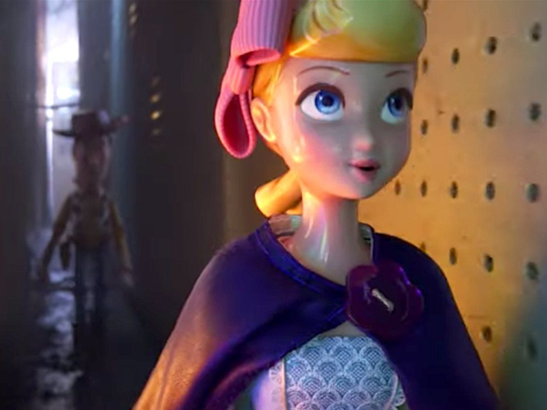 Bo Peep Saves Woody In The First Trailer For Toy Story 4 Bo Peep Toy Story Toy Story Disney Presents