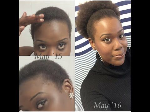 1 year hair growth after big chop 3c 4a - Google Search