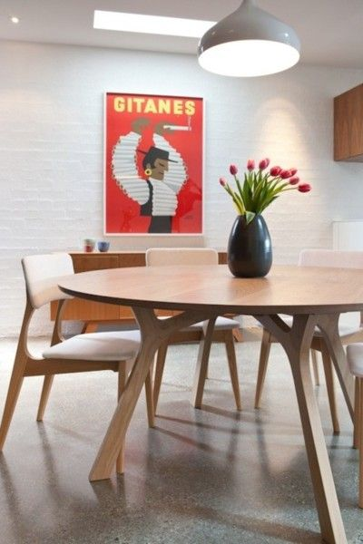 Beautifulcraftsmanshipfrom Melbourne furniture designer George Harper of Tide Design. Individual pieces are made-to-order and designed around the customers specific requirements, including materials, finish and dimensions. We especially love this dining set!  http://www.designermelbourne.com.au/