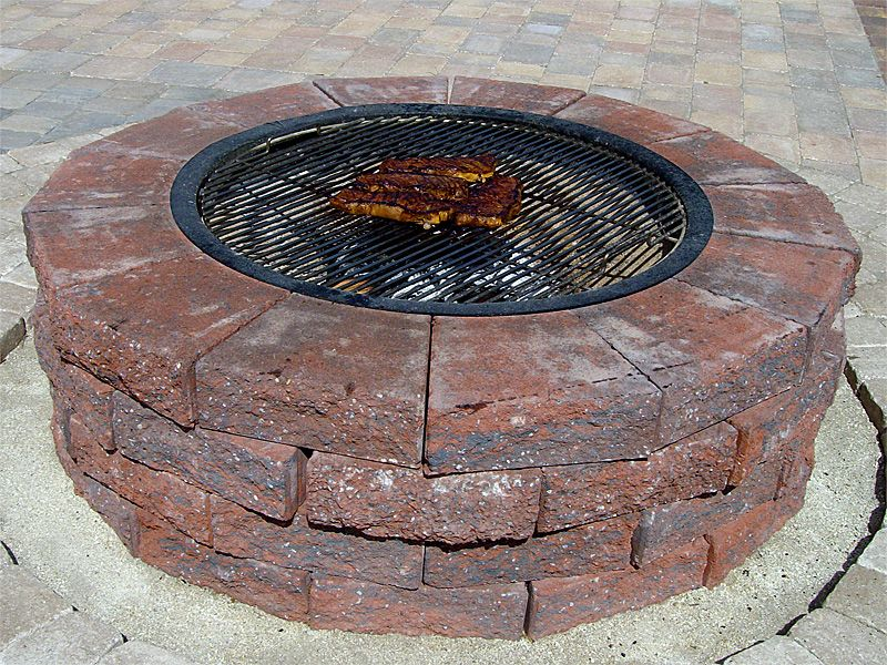 If you choose to use the firepit as a grill kit you can fill the home remodeling the choice of outdoor fire pit kits with round design the choice of outdoor fire pit kits gas fire pits outside fireplace gas firepit solutioingenieria Images