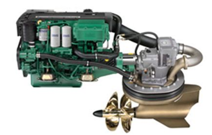 Volvo Penta D4 260 Hp Mating The D4 To The New Ips Pod Drives Was A No Brainer And Opened Up A New Market Of Boat Specifically Configured To Accommodate The N