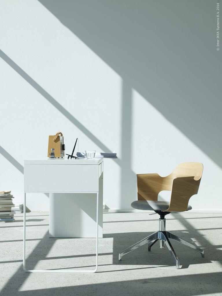 Bureau Micke en stoel Fjallberget. Verkrijgbaar vanaf febr. - Ikea ...