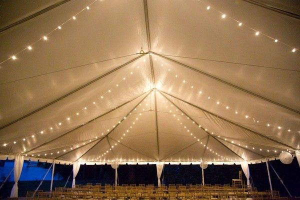 9 great party tent lighting ideas for