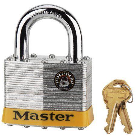 Master Lock 15DPF 2-1/2 inch Laminated High-Security Professional Series Padlocks, Multicolor